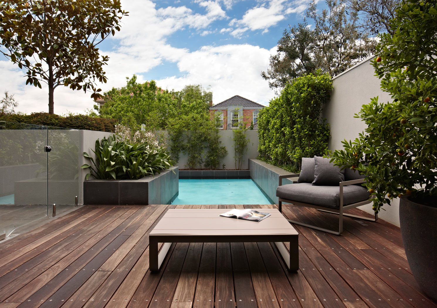 Landscape design melbourne nathan burkett design for Landscape construction melbourne