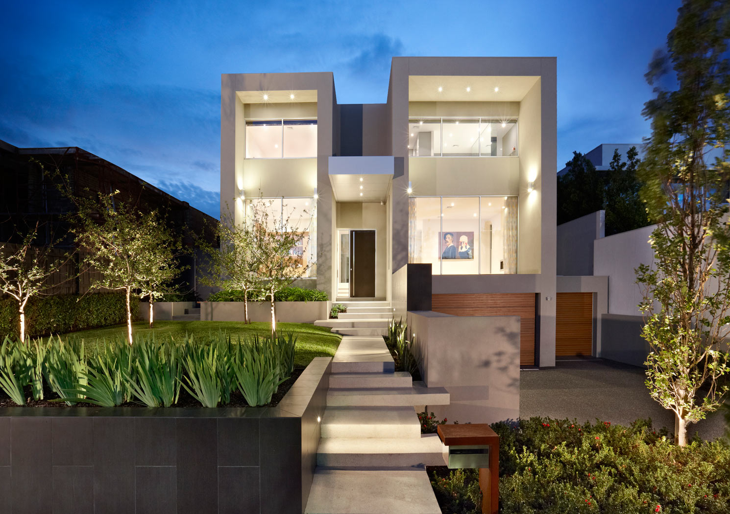 Landscape design melbourne nathan burkett design for Award winning architects
