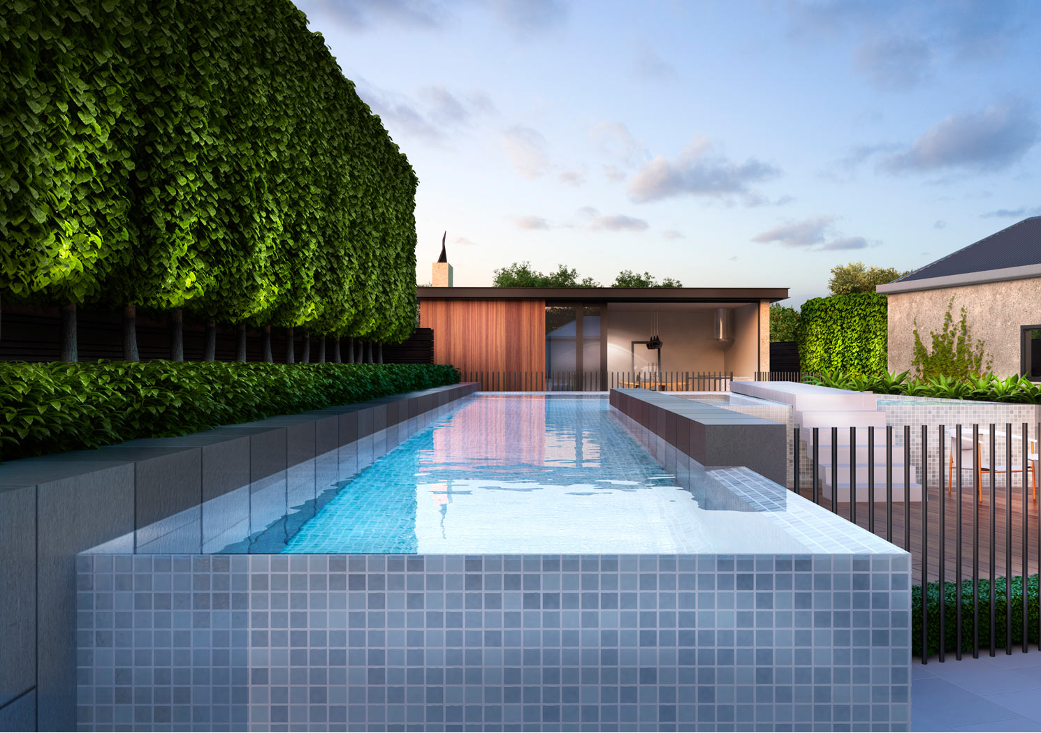 Landscape design melbourne nathan burkett design for Landscape design melbourne