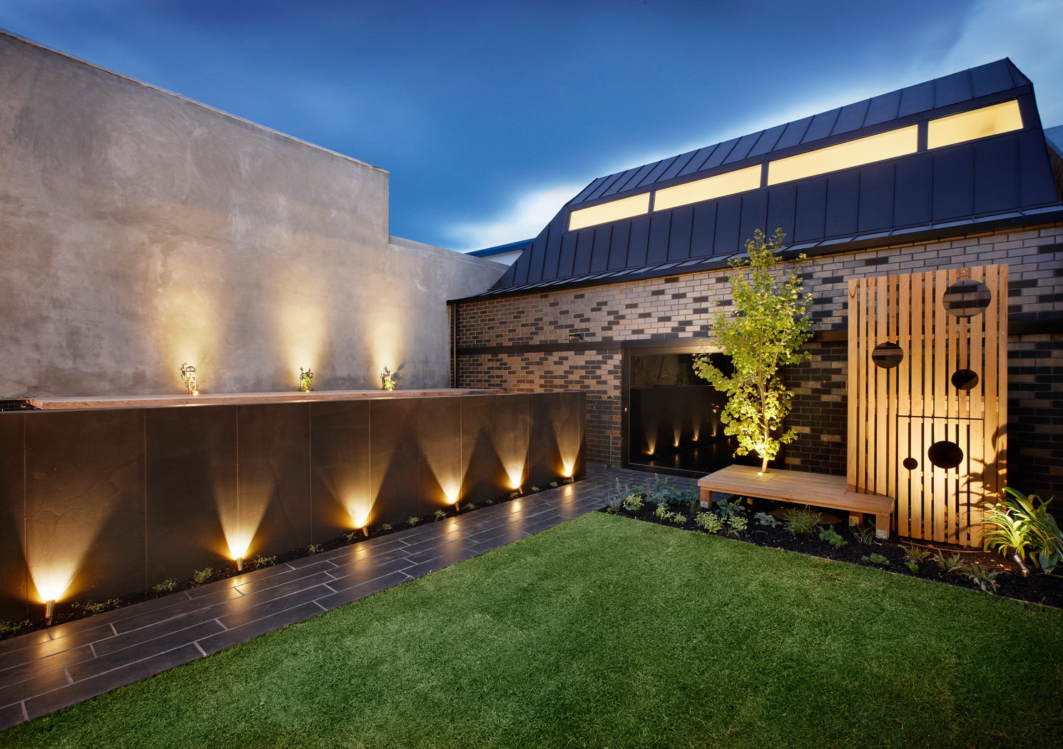 Albert park project for Luminaire de jardin led