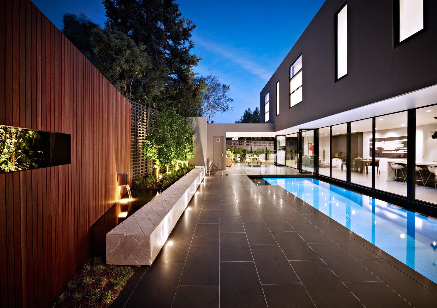 architects specialising in swimming pools landscape garden designer melbourne nathan burkett design