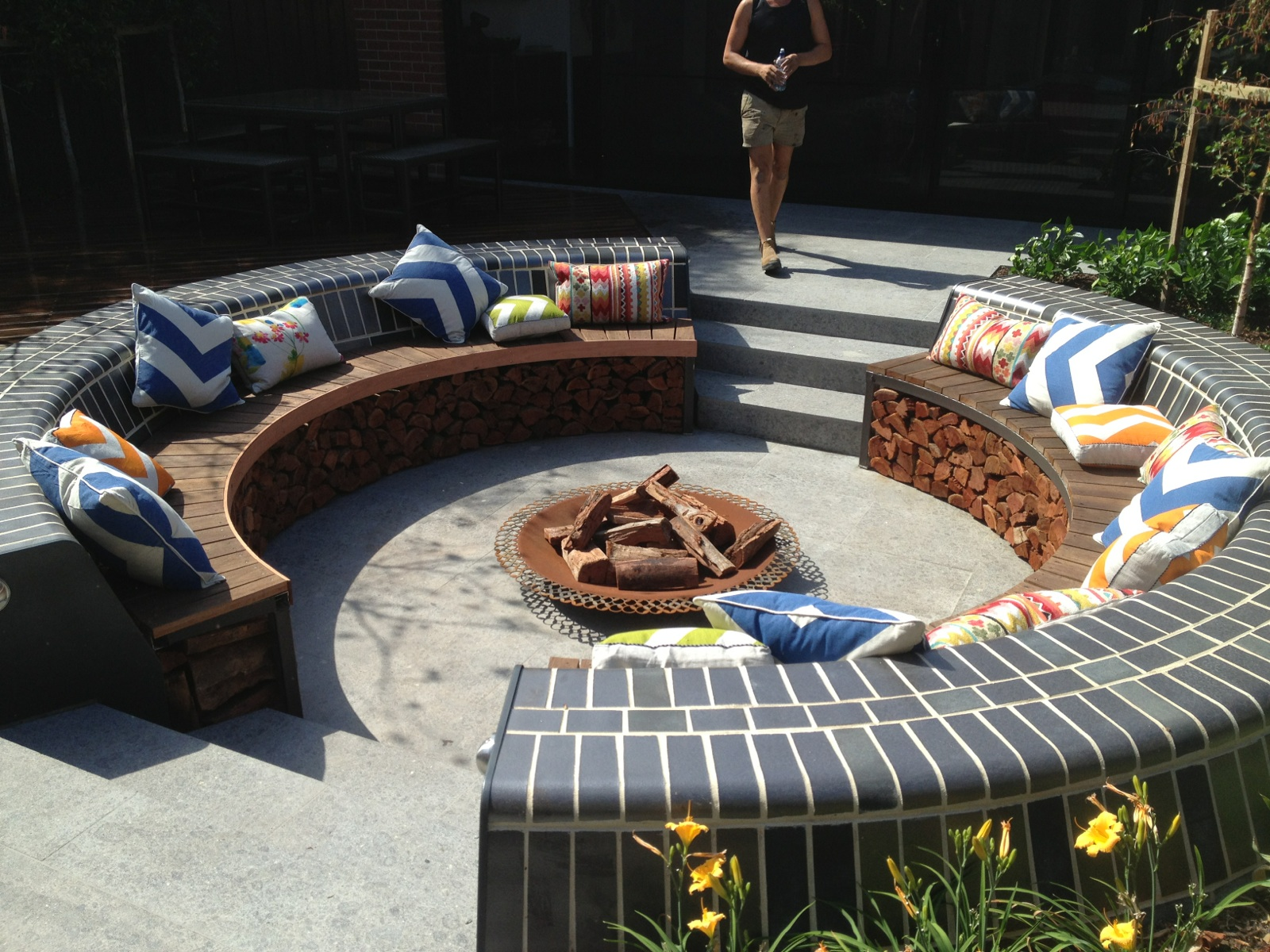 News for Sunken outdoor seating