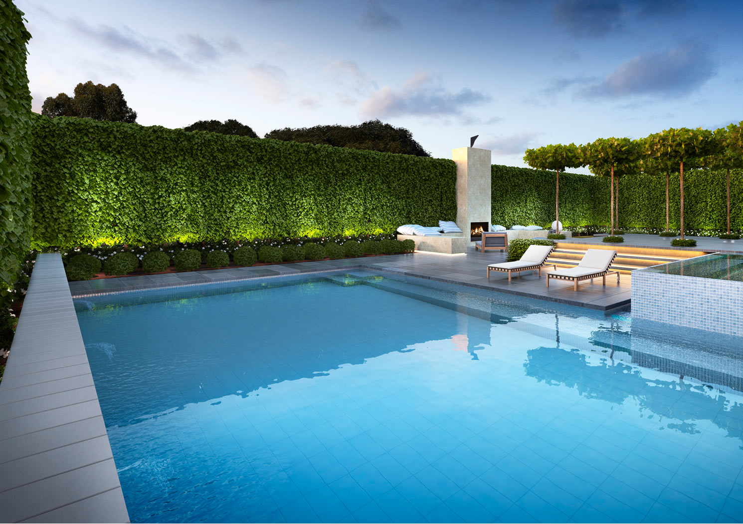 Landscape garden designer melbourne nathan burkett design for Design and landscape